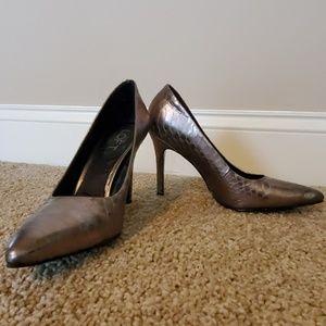 Ann Taylor LOFT Snake Skin Heels